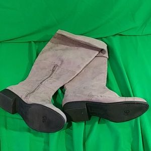 American eagle suede knee high boots size 8.5W